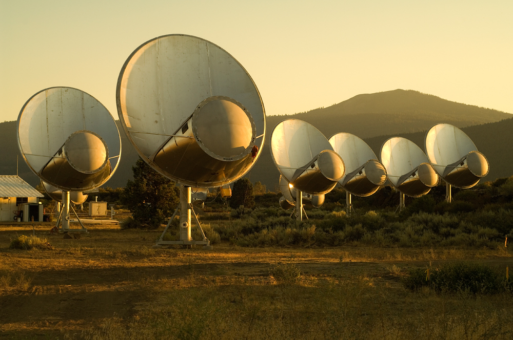 Allen Telescope Array, Califórnia