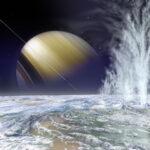 Cassini dá um rasante em Enceladus e manda novas fotos da misteriosa lua gelada de Saturno