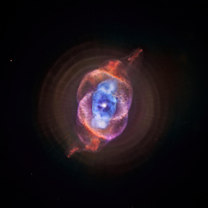 Chandra capturou em Raios X a imagem da Nebulosa Olho de Gato {1}