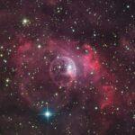 A Nebulosa da Bolha sob a lente de Kent Wood
