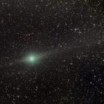 O cometa verde Lulin e suas duas caudas