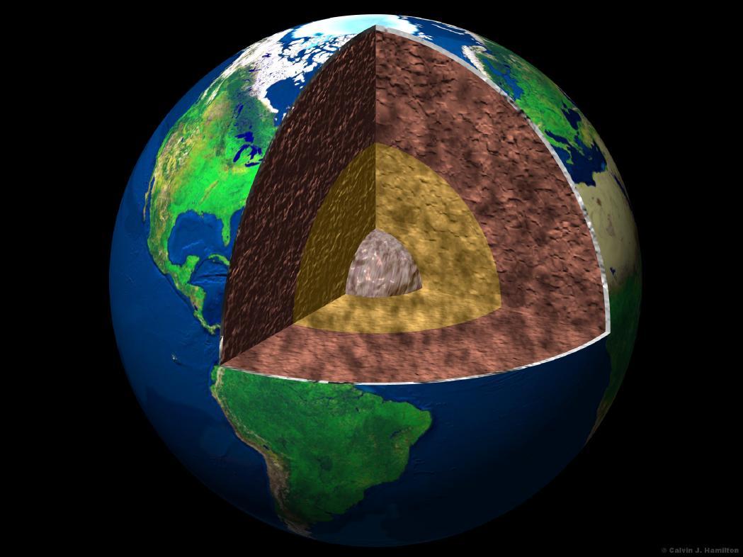 O interior da Terra (Universidade de Chicago)