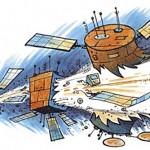 Os satélites e o lixo espacial: quais são as estatísticas?