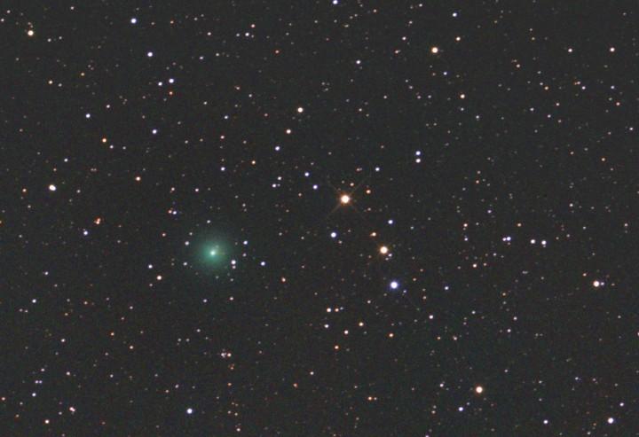 Cometa Yi-SWAN por Gregg Ruppel (www.spaceweather.com)