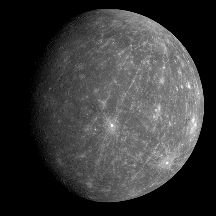 Mercúrio revelado pela sonda Messenger {1}