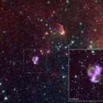 SNR 0104: os telescópios espaciais Chandra e Spitzer mostram imagens dessa misteriosa remanescente de supernova