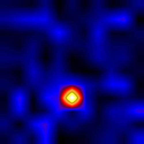 Essa imagem em raios-X de Cygnys X-1 foi tirada pelo telescópio atrelado a um balão do projeto High Energy Replicated Optics (HERO). Crédito: NASA.