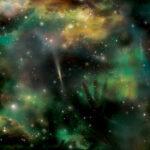 Explosões de raios gama distantes iluminam e revelam regiões escondidas do Universo