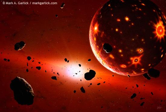 Protoplaneta por Mark A. Garlick