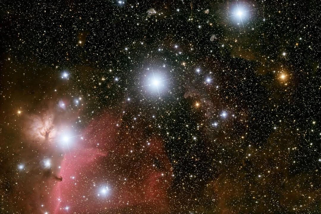 Resultado de imagem para estrelas da espada de orion