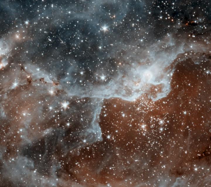 Berçário Estelar DR22 na constelação de Cisne.