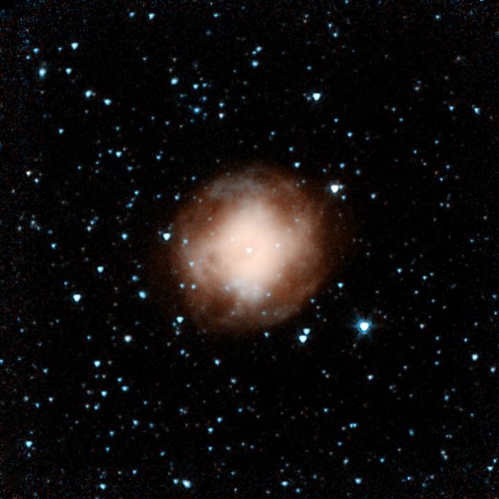 Spitzer revela a nebulosa planetária NGC 4361