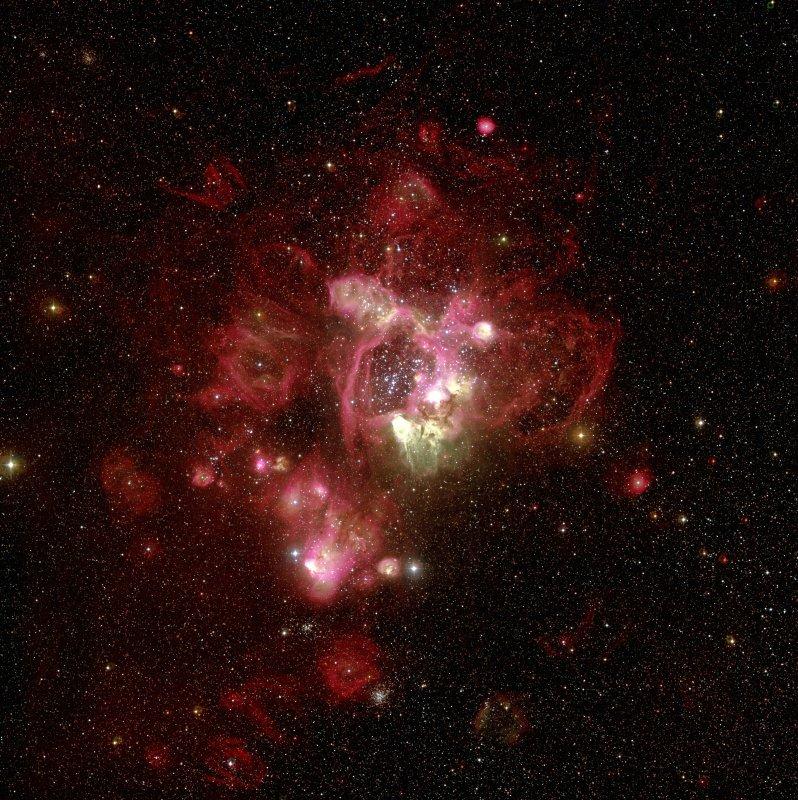 ESO mostrou a N44