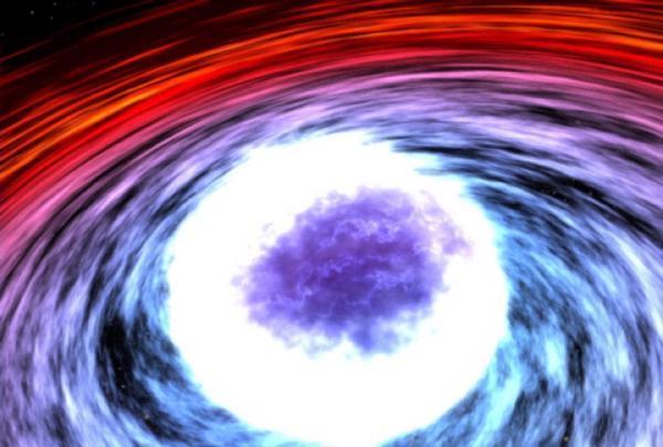 Uma estrela de nêutrons pode sofrer abalos sísmicos e romper sua densa crostra, gerando explosões de raios-gama