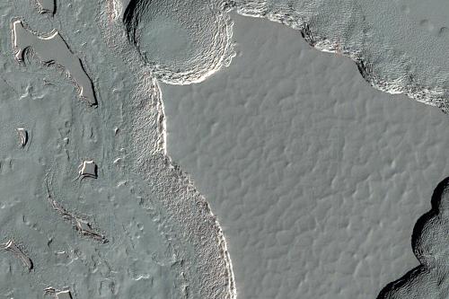 Capa de gelo no pólo Sul marciano (ESP_012637_0935)