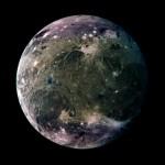 Ganimedes: a maior lua do sistema solar visível em detalhes