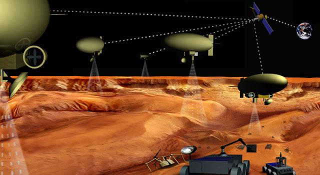 Armada de robôs exploradores invade Titã, lua de Saturno. Crédito: NASA/JPL/Caltech