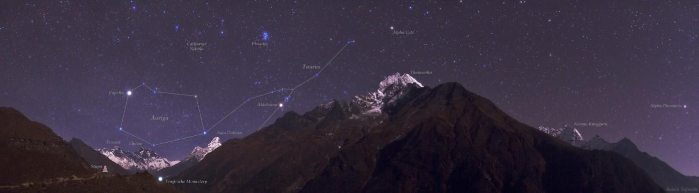 Himalayan Skyscape (paisagem celeste no Himalaia) – Crédito©: Babak Tafreshi (TWAN)