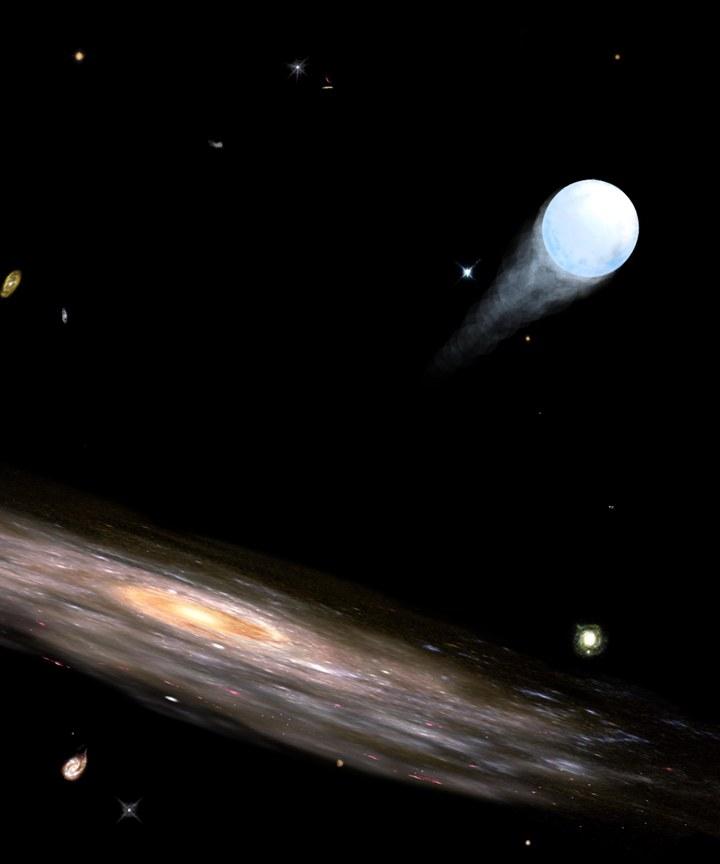Estrelas supervelozes errantes podem nos contar a história da formação da Via Láctea