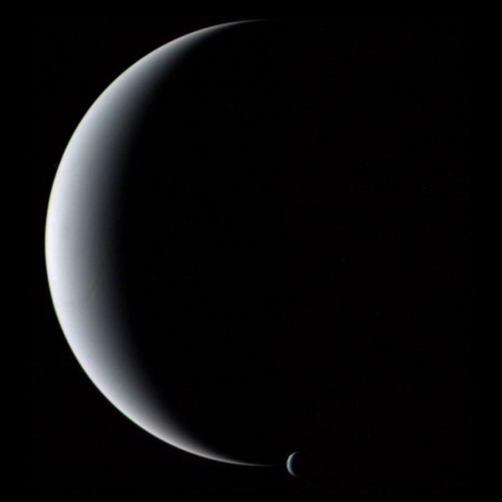 Netuno e Tritao Voyager 2