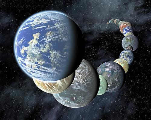 O zoológico exoplanetário