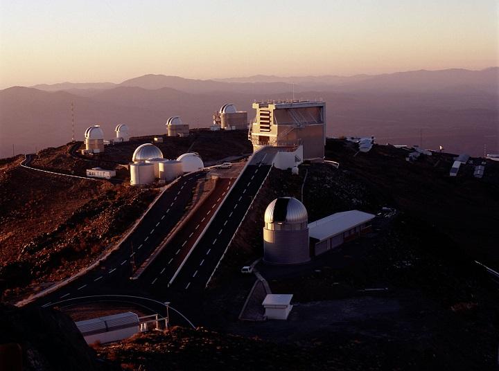 Observatório do ESO em La Silla, Chile. Crédito: ESO