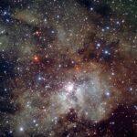 O VLT do ESO mostra a maternidade estelar em NGC 3603 onde reside a estrela mais massiva conhecida – A1