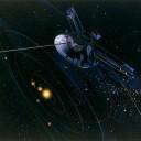 A sonda Pioneer 10 da NASA foi lançada em 03 de março de 1972