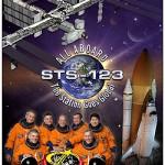 11 de março de 2008 – Dextre, Kibo e a ISS