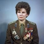 06 de março – Valentina Vladimirovna Tereshkova foi a primeira mulher no espaço