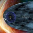 Voyager 1 e 2 e o Sistema Solar (crédito: NASA)