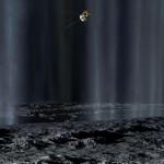 Cassini mostra como Enceladus deixa bolhas de plasma em seu caminho pelo espaço