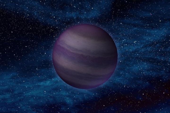 A anã marrom UGPSJ0722-05 encontrada a 9 anos luz da Terra é um objeto-sub-estelar solitário.