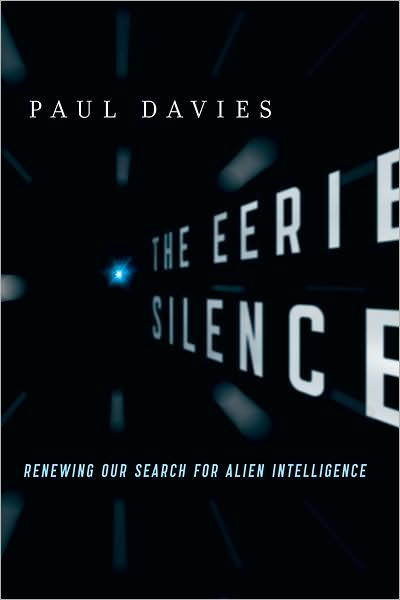 Capa do The Eerie Silence livro de Paul Davies