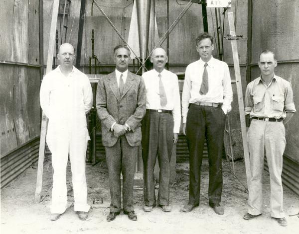 Goddard e equipe