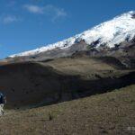 Stéphane Guisard mostra as estrelas e a Via Láctea sobre o vulcão Cotopaxi no Equador