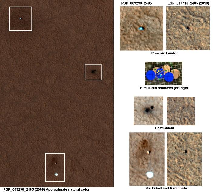 Phoenix settlement in Mars