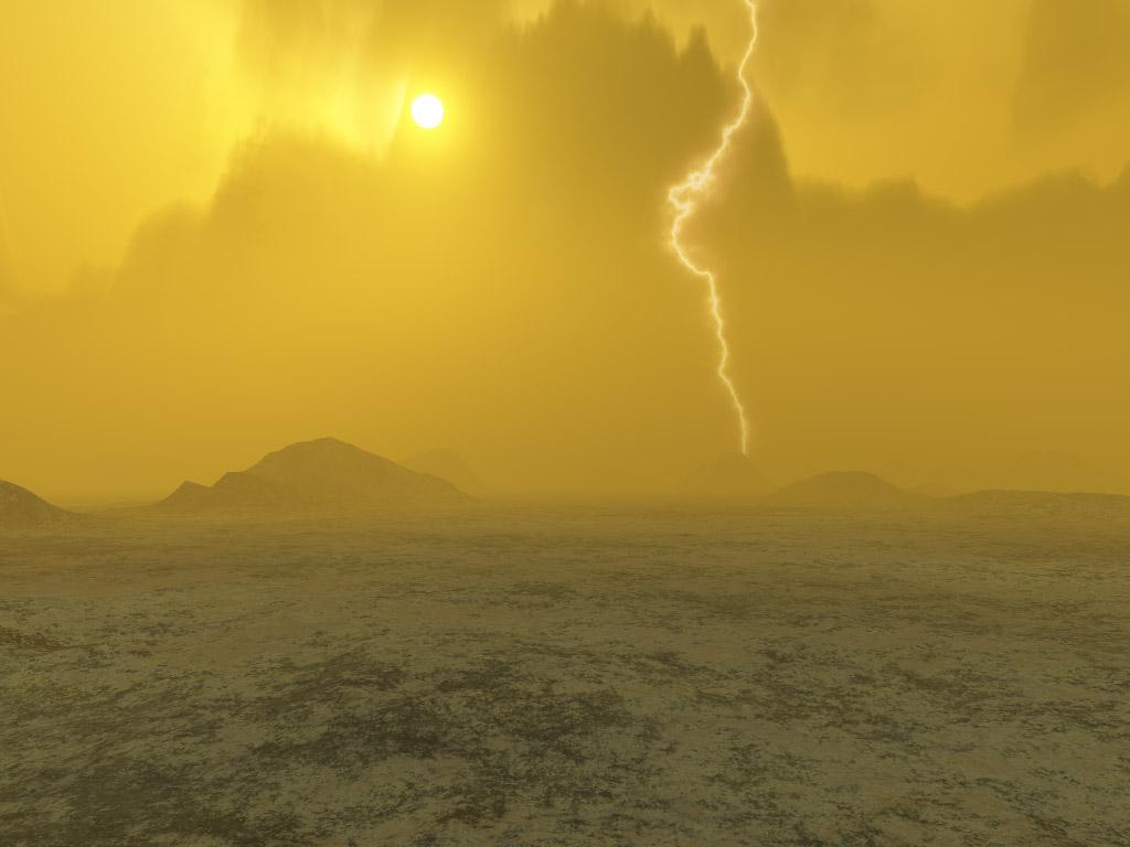 Terá este árido planeta tido uma fase de água em abundância?