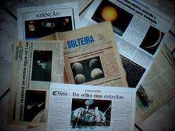 Publicações que citam o Grupo de Amadores de Astronomia de Ilha Solteira