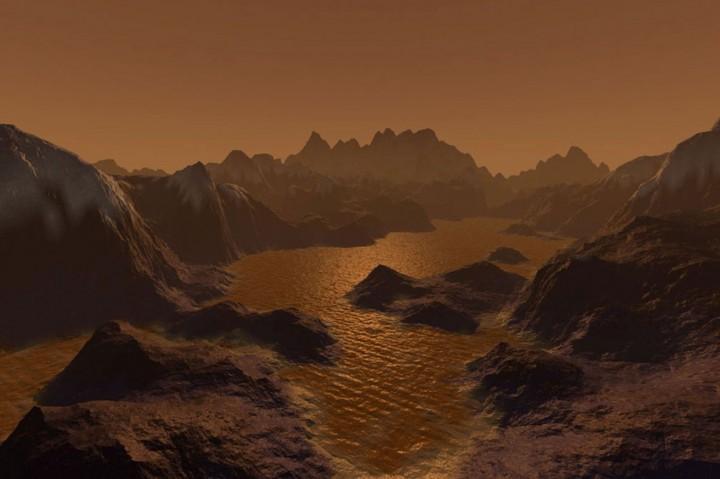 Steven Hobbs Titan lake