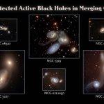 Pesquisa do SWIFT revela o gatilho que acende os buracos negros nos núcleos das galáxias ativas: a colisão de galáxias