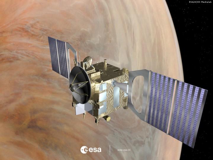 A sonda robótica Venus Express da ESA