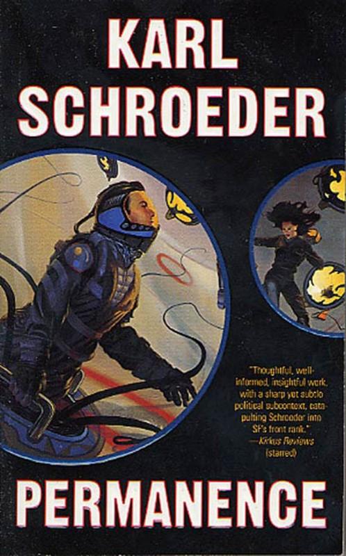 Capa do romance Permanence de Karl Schroeder