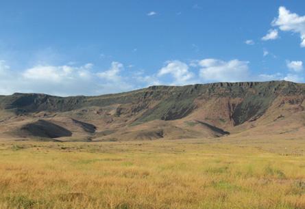 Fluxos de Lava estudados em Nevada (Sheep Creek Range) fornecem novas evidências de uma inversao geomagnética super-rápida que ocorreu há 15 milhões de anos.