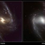 NGC 1365: A Grande Galáxia Espiral Barrada foi estudada em infravermelho pela câmera HAWK-I do VLT do ESO