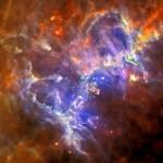 Nebulosa da Águia: a conjugação de imagens de vários observatórios fornece uma nova visão de um ícone cósmico