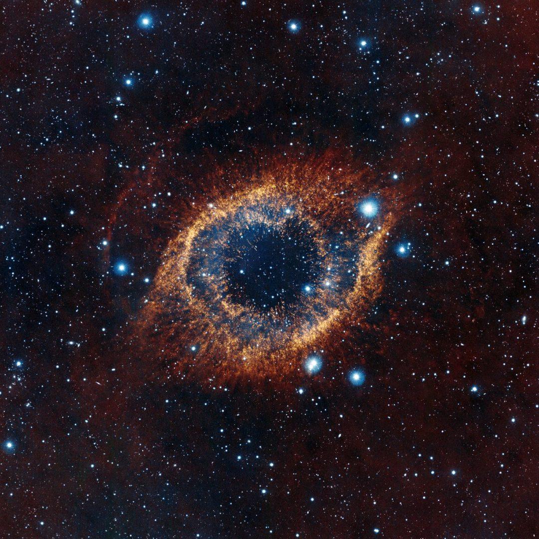 Conhecido ESO: Telescópio VISTA revela detalhes inéditos da nebulosa da  FK54