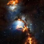 Berçário estelar em Messier 78 revelado pelo APEX