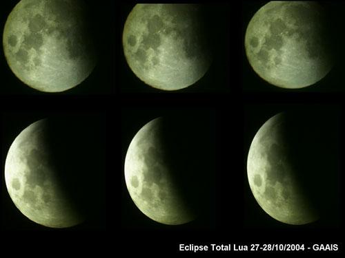 GAAIS - Eclipse total da Lua 27 e 28 de outubro de 2004
