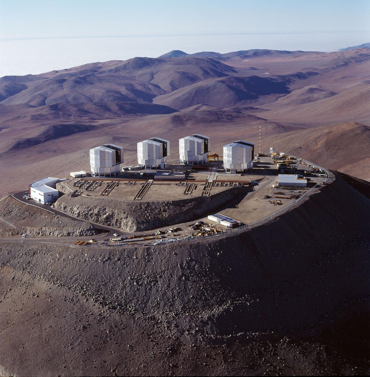 ESO: o observatório em Cerro Paranal em 16 nov 1999